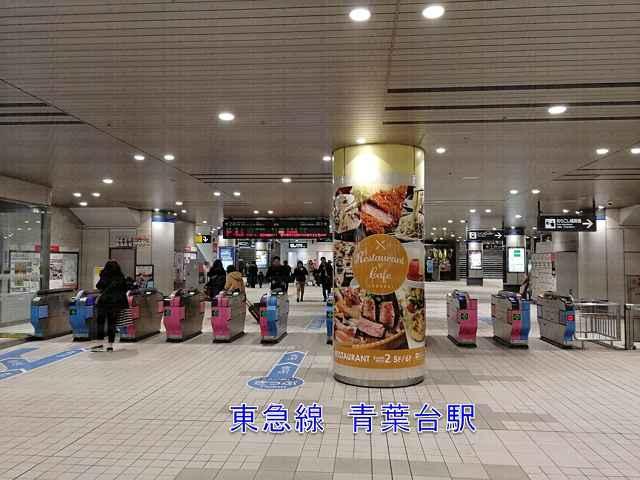 青葉台駅改札の画像