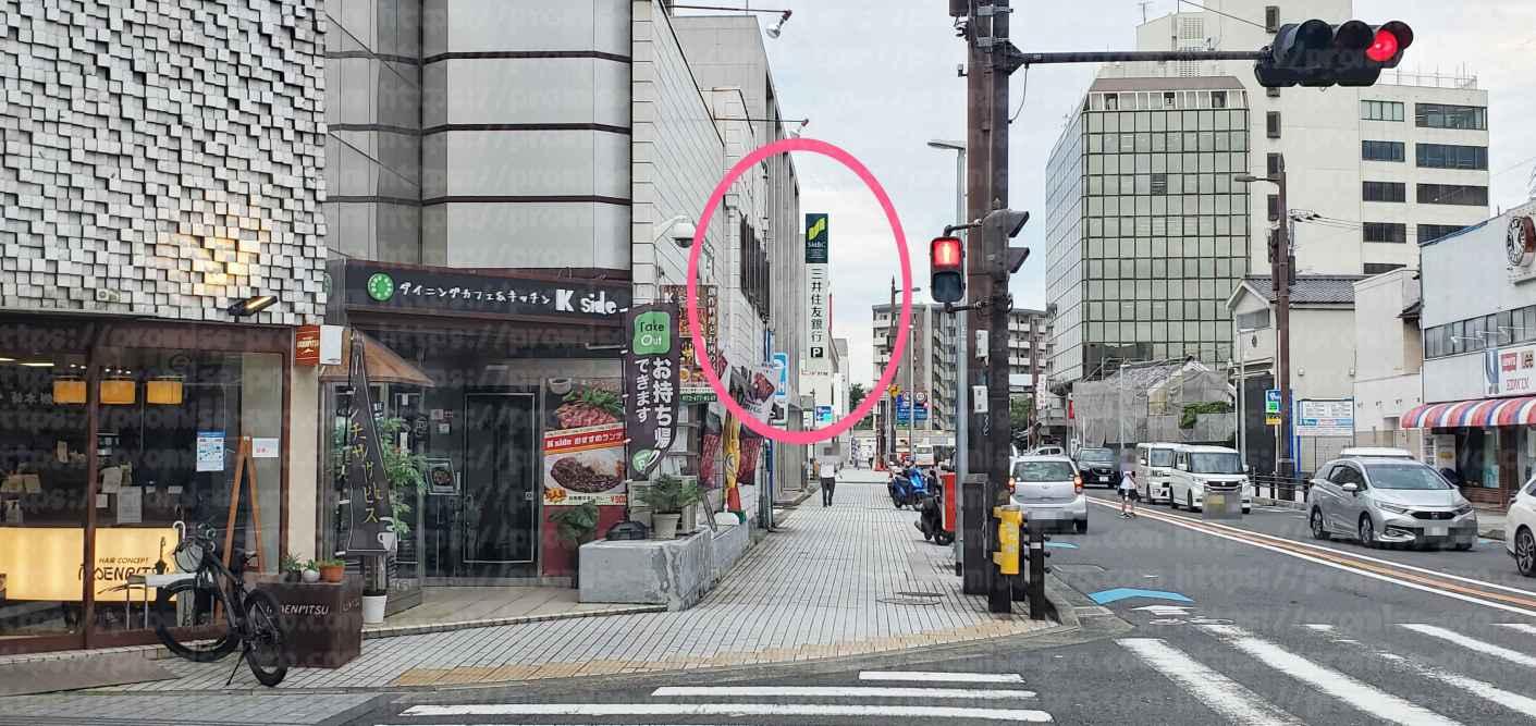 三井住友銀行看板1画像