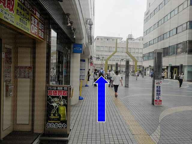 商店街の画像