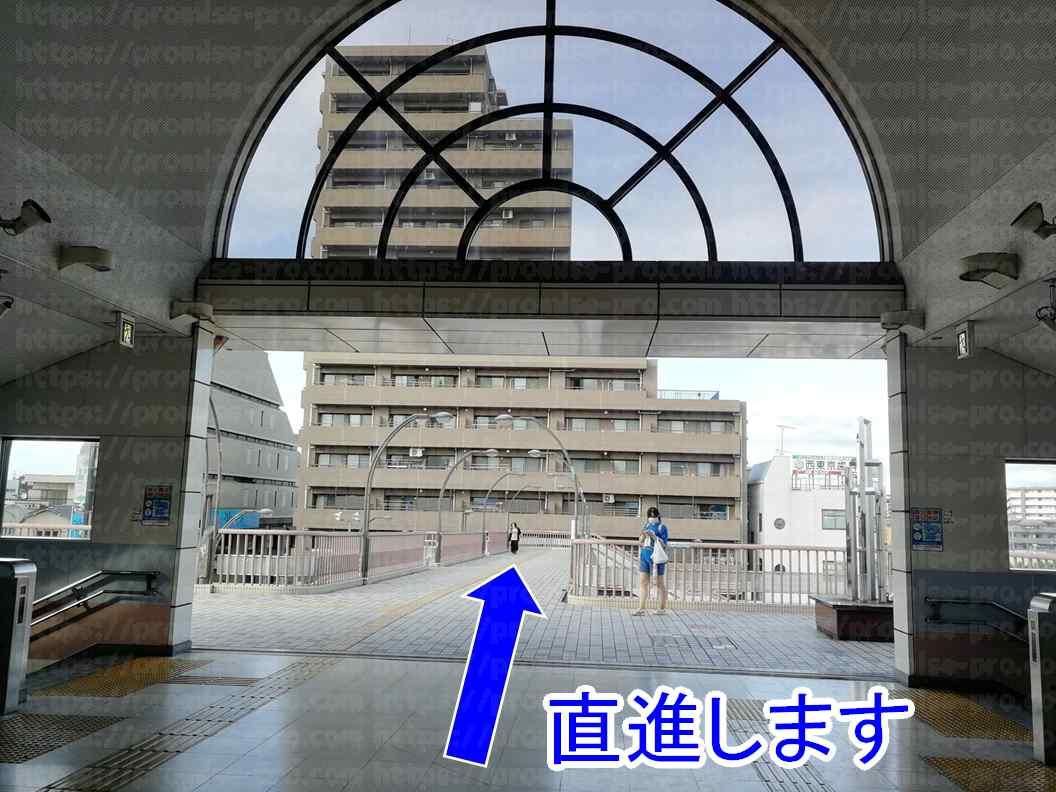 駅前デッキ画像