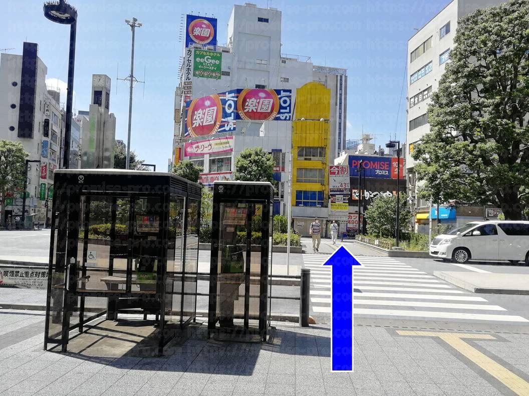 横断歩道の画像